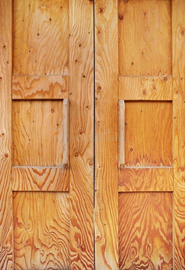 Hölzerne offenbar Beschaffenheit Browns der alten Tür stockbilder