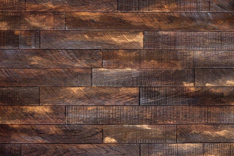 Hölzerne Planken, hölzerner Bodenbelag oder hölzernes Parkett als Hintergrund stockbild