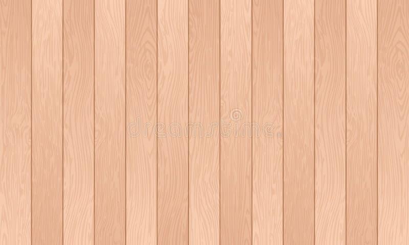 Hölzerne strukturierte Hintergründe, hölzerne Planke, abstrakter Farbliniehintergrund mit hölzernem Oberflächenmuster, Vektorillu vektor abbildung