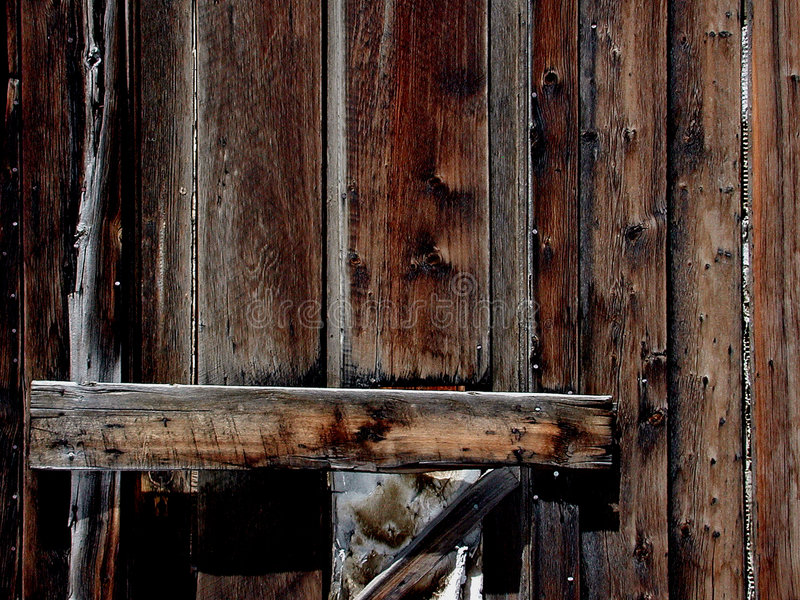 Download Hölzerne Tür stockbild. Bild von zeilen, türen, braun, haus - 33013
