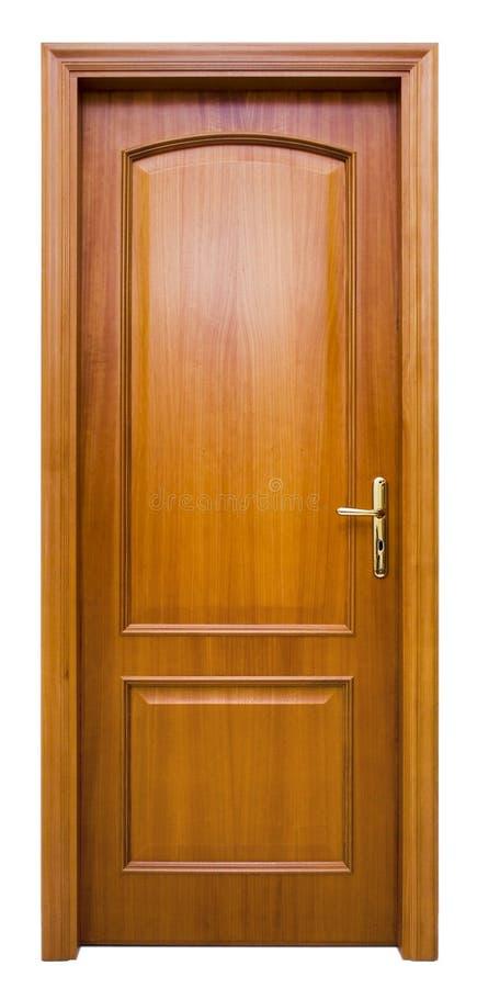 Hölzerne Tür lizenzfreie stockfotografie