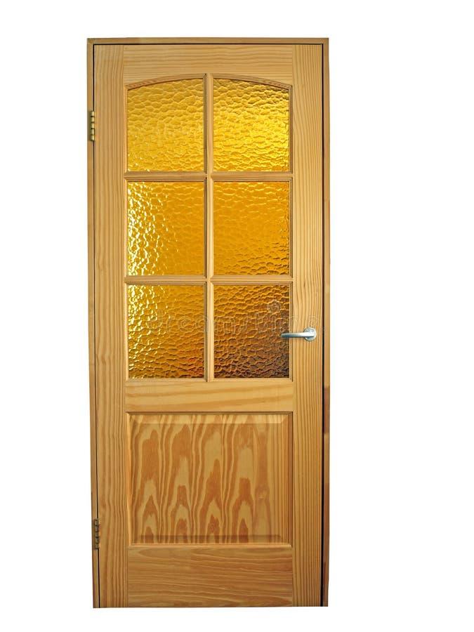 Hölzerne Türen lizenzfreies stockbild