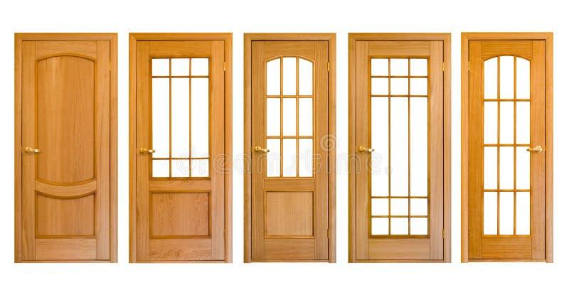 Hölzerne Türen stockbilder