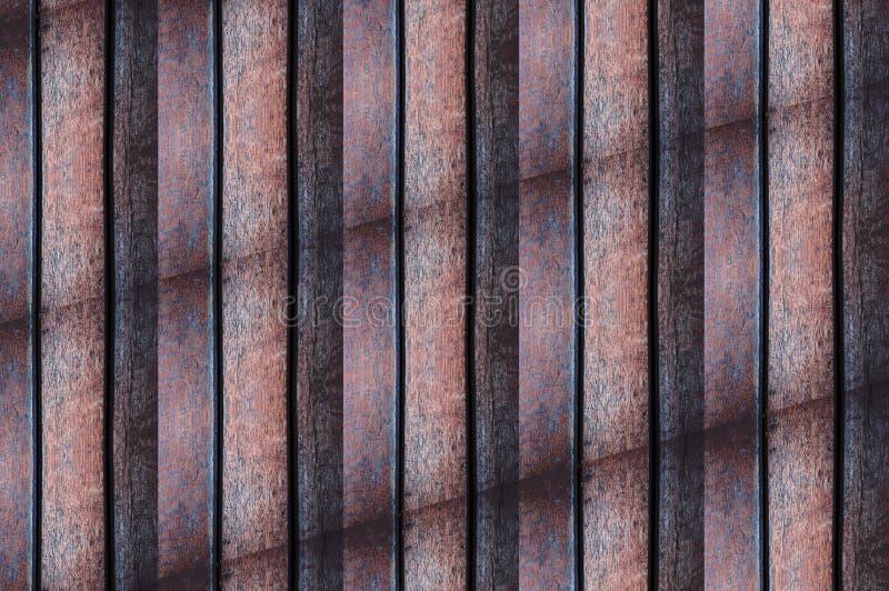 Hölzerne Wandraumbodendesignbeschaffenheitstapeten und -hintergründe stockfotos
