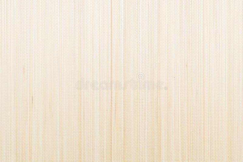Hölzerner Bambus-Mat Texture lizenzfreie stockfotos
