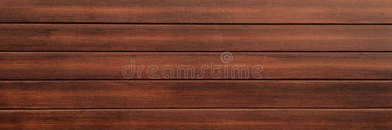 Hölzerner Beschaffenheitshintergrund, braune hölzerne Planken Hölzernes Wandmuster des Schmutzes stockfotografie