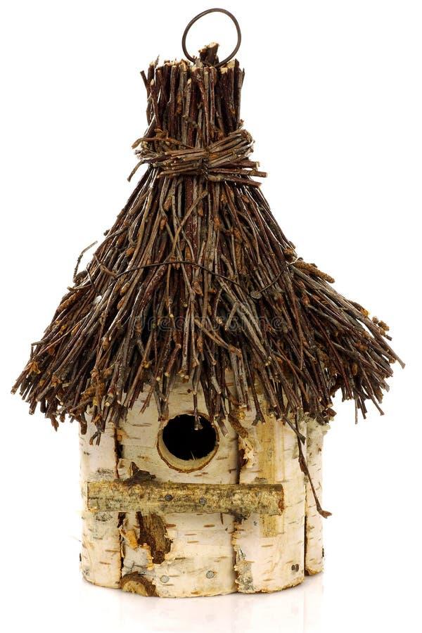 Hölzerner Birdhouse lizenzfreies stockfoto