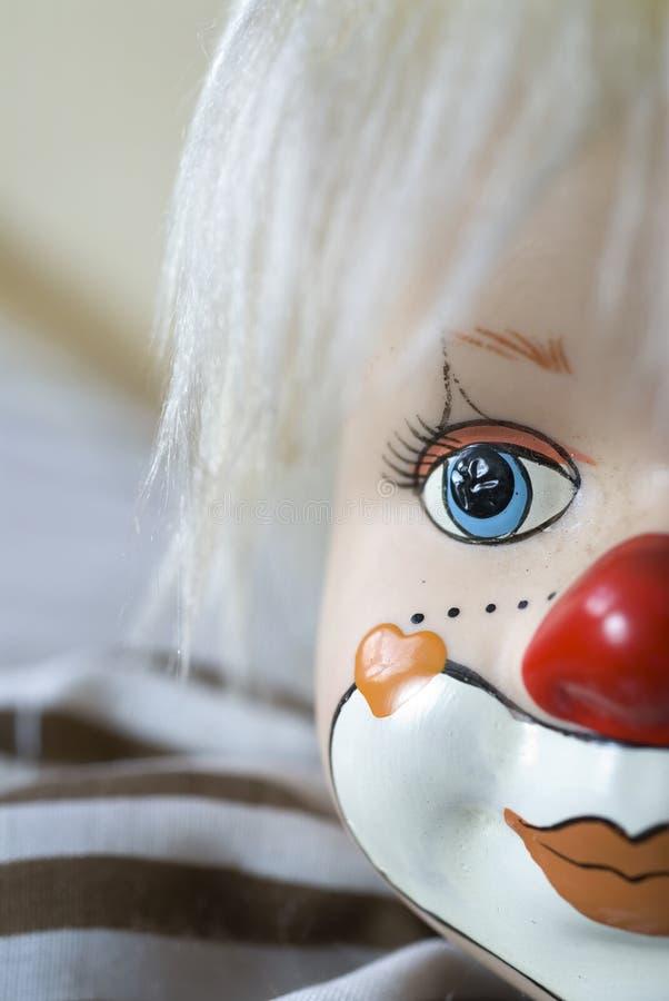Hölzerner Clown 2 lizenzfreie stockfotos