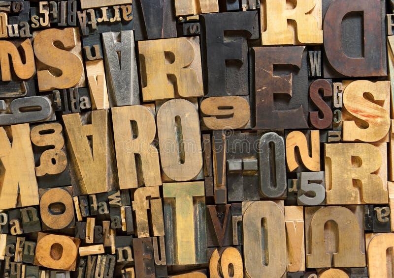 Hölzerner Hintergrund des Druckes lizenzfreie stockbilder