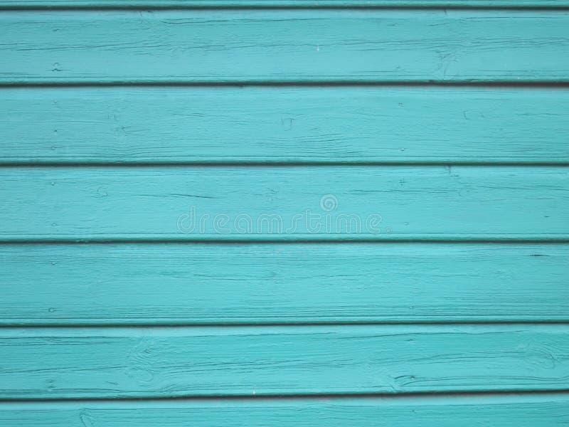 Download Hölzerner Hintergrund Des Türkises   Gemalte Hölzerne Planken Für  Schreibtischtabellenwand Oder  Boden Stockfoto