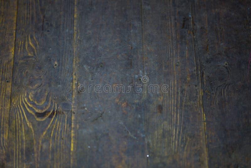 Hölzerner Hintergrund, dunkles Holz stockbild
