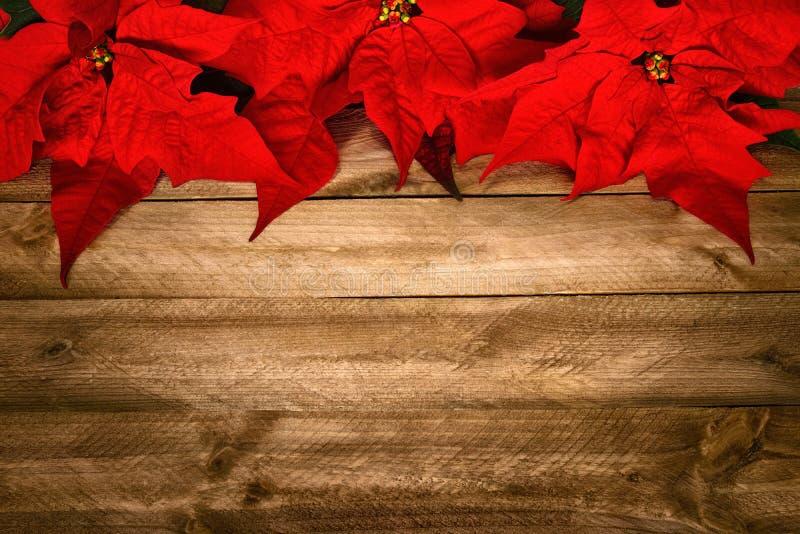 Hölzerner Hintergrund für Weihnachten stockfotos