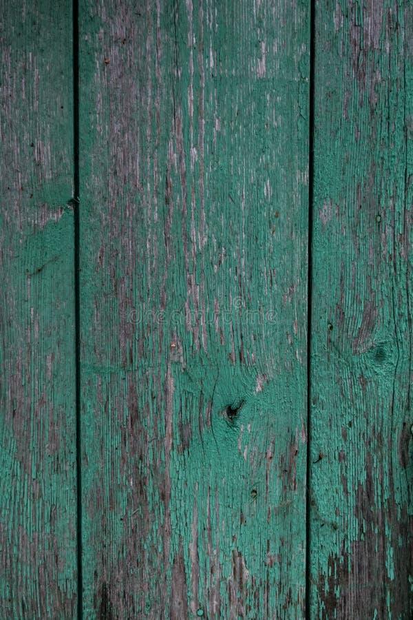 Hölzerner Hintergrund Schäbiges Brett Schale der grünen Farbe lizenzfreies stockbild