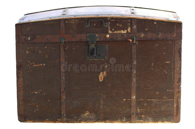 Hölzerner Kasten der alten Weinlese lizenzfreies stockbild