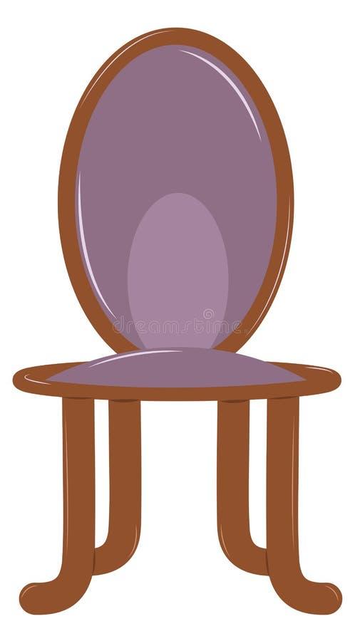 Hölzerner Stuhl stock abbildung