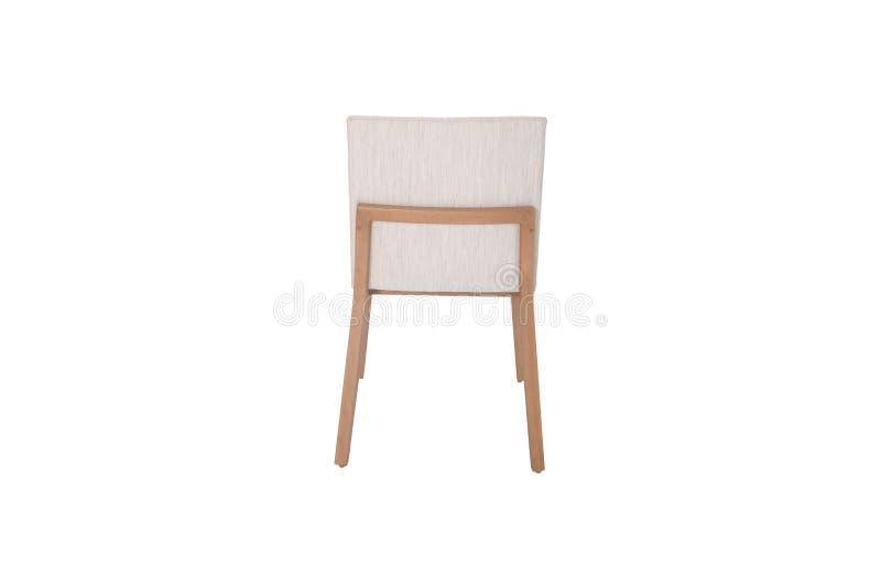 Hölzerner Stuhl Gegenstand lokalisiert vom Hintergrund lizenzfreies stockfoto