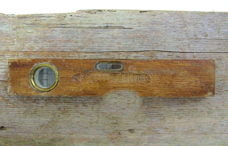Hölzerner Wasserspiegel der alten Weinlese auf Holz stockfotos