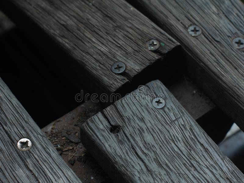 Hölzernes defektes Holz des alten hölzernen Kornes lizenzfreie stockfotografie
