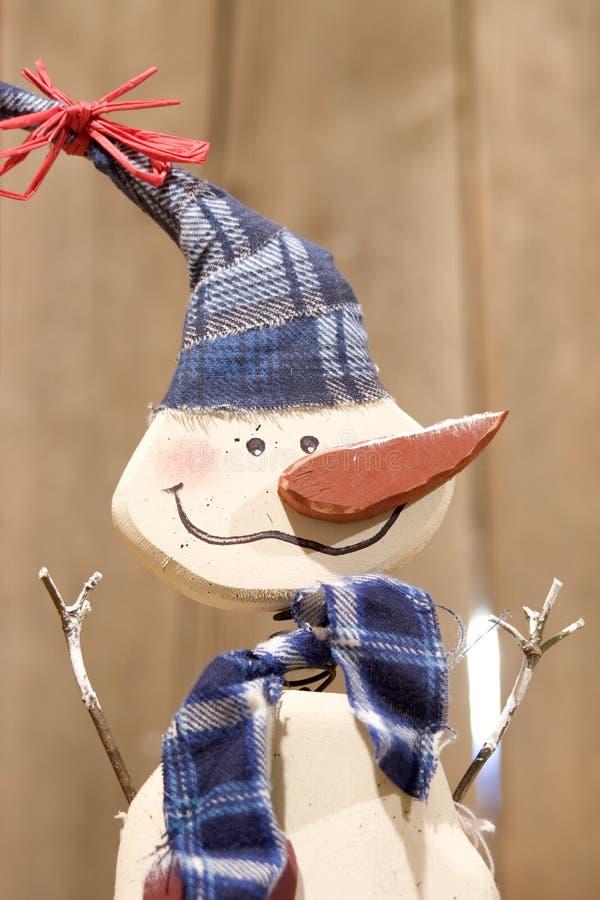 Download Hölzernes Eisiges Der Schneemann Stockbild - Bild von feiertage, kugel: 42239