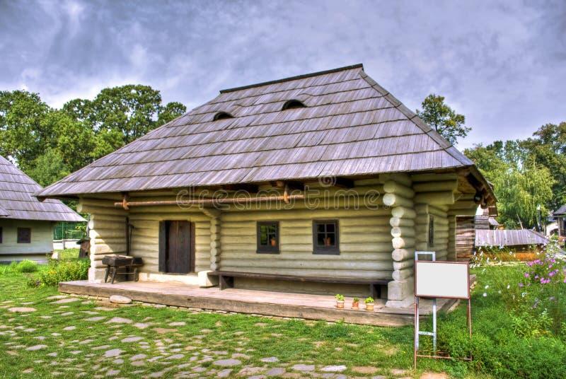 Hölzernes Haus stockbild
