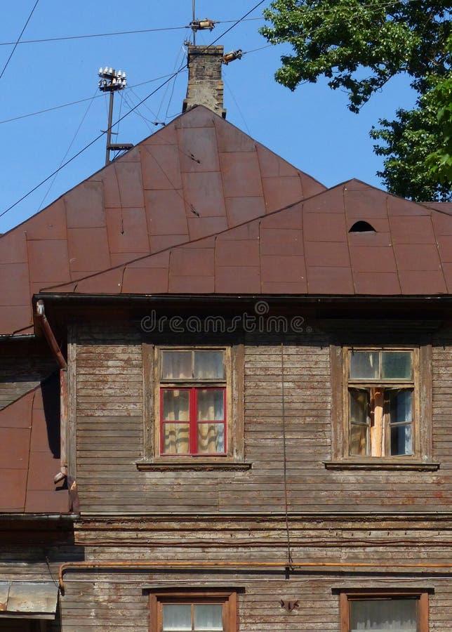 Hölzernes Haus stockfotos