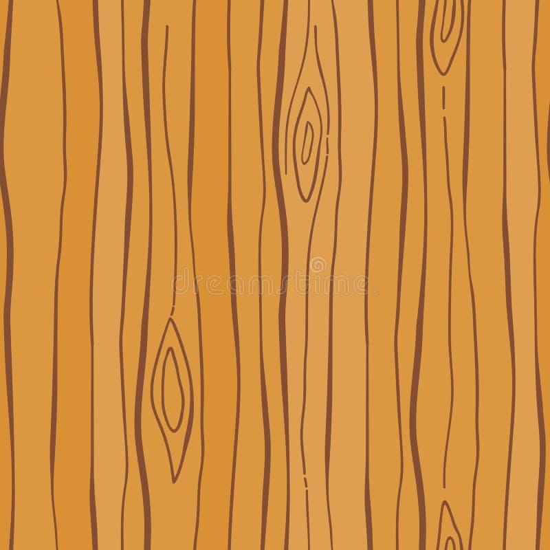 Hölzernes Korn-Muster stock abbildung