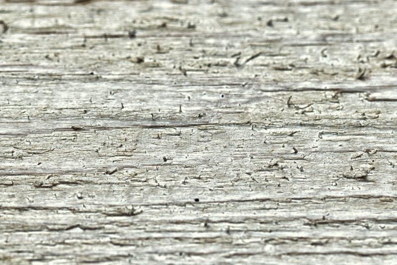 Hölzernes planked Holz des Hintergrundes Makroweiß stockfotografie