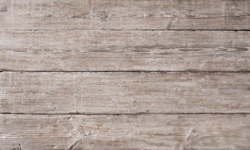 Hölzernes Plankenkorngefüge, hölzernes Brett streifte Faser, alten Boden lizenzfreies stockbild