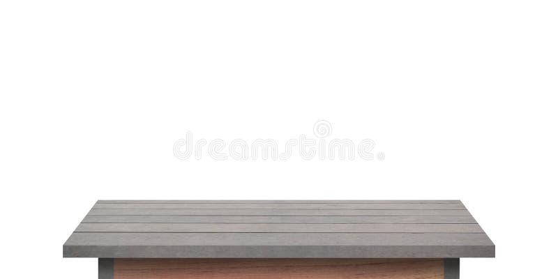 Hölzernes Regal für Hintergrund Hintergrund für Produktanzeigenkonzept lizenzfreies stockbild