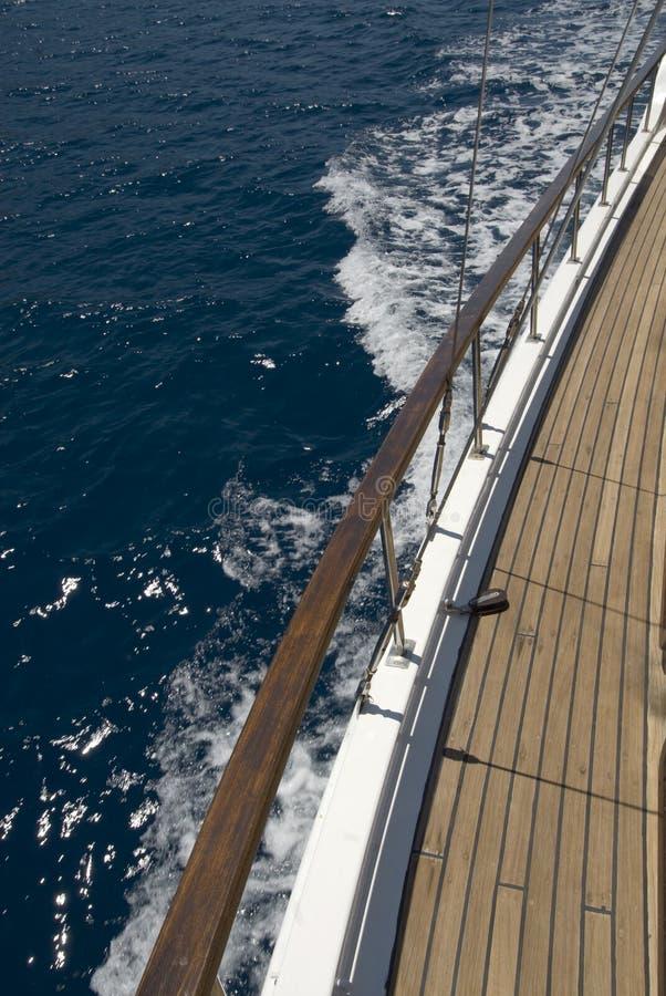 Hölzernes Segelboot lizenzfreies stockfoto
