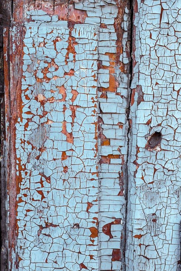 Hölzernes weißes Brett mit gebrochenem und Kratzer Schmutz-Holzbeschaffenheit der Nahaufnahme orizontal lizenzfreie stockfotografie