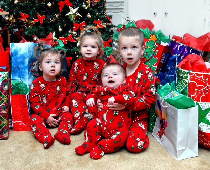 Hören auf Weihnachtsmann stockfotos