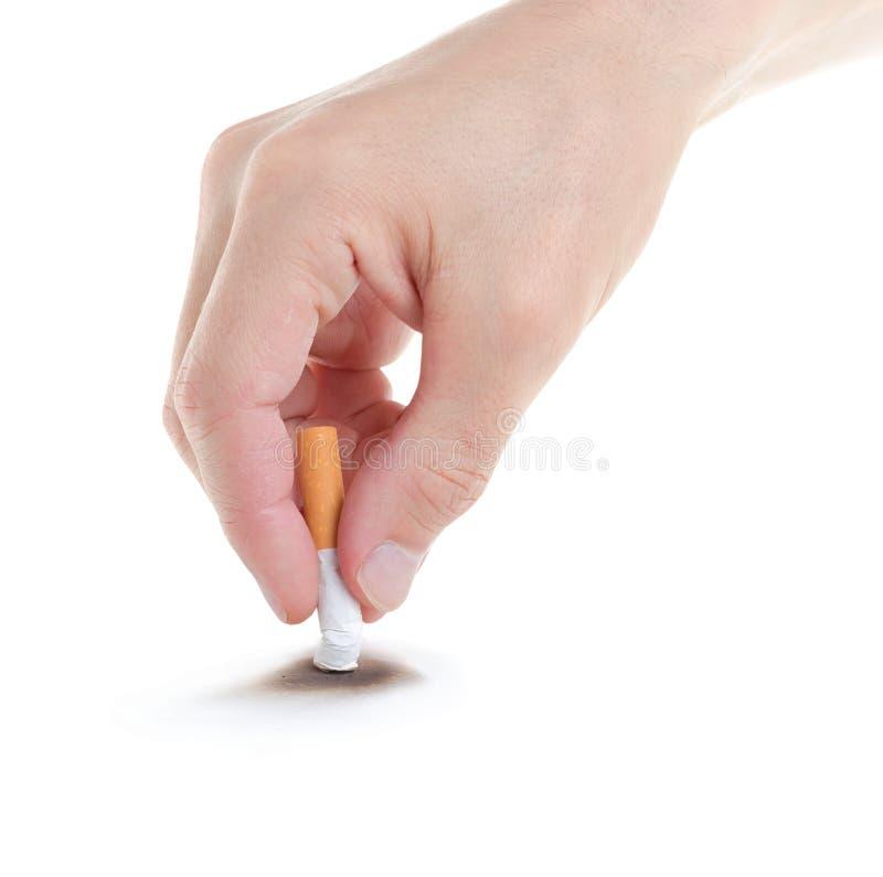 Hören Sie auf zu rauchen. stockbilder