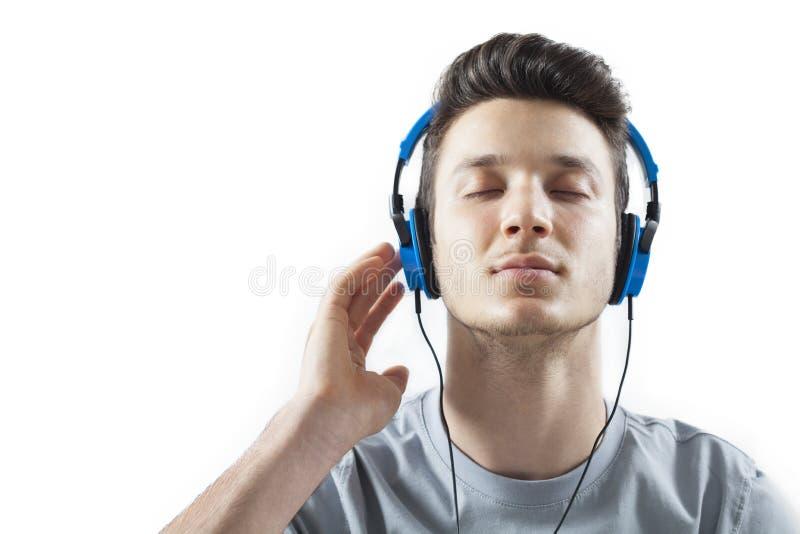 Hörende Musik stockbilder