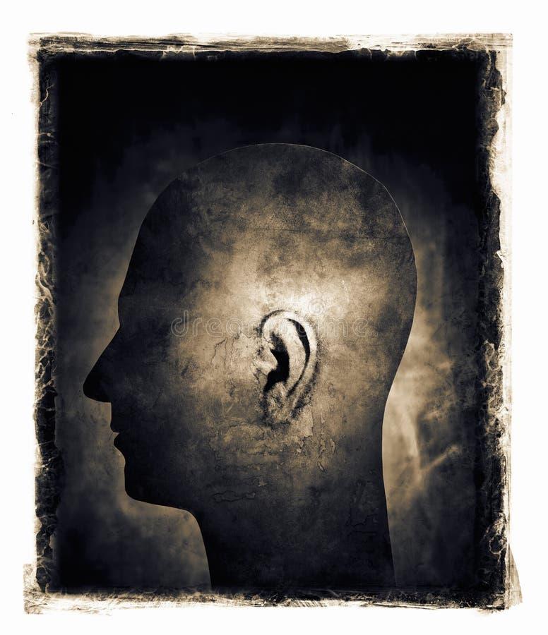 hörfähigkeit lizenzfreies stockbild