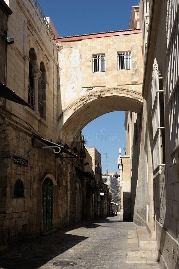 Hörn av Jerusalem royaltyfri foto