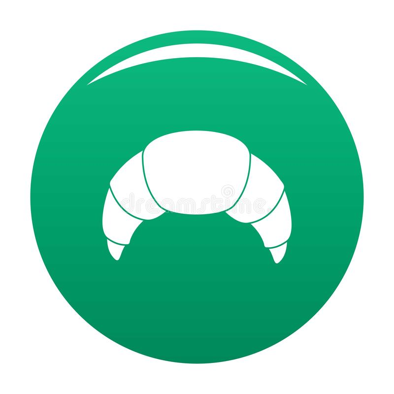 Hörnchenikonen-Vektorgrün stock abbildung