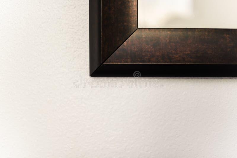 Hörnet av inramad väggkonst royaltyfri fotografi