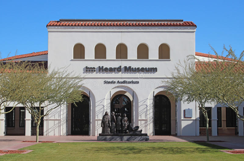 Hört museum i Phoenix, Arizona royaltyfri fotografi
