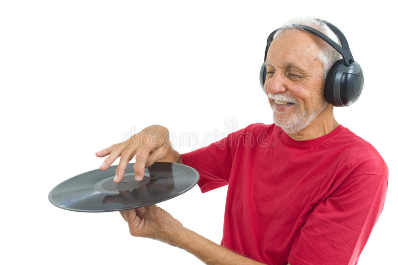 Hört Musik stockbild
