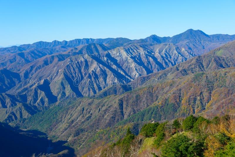 Höst i Oku-Nikko royaltyfria foton