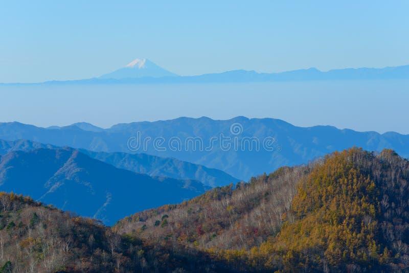 Höst i Oku-Nikko fotografering för bildbyråer