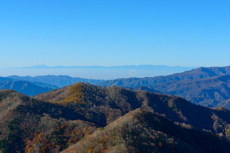 Höst i Oku-Nikko royaltyfri fotografi