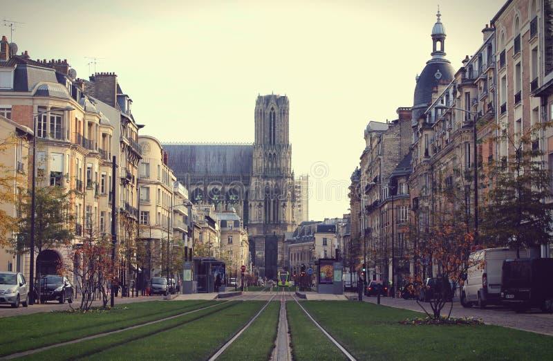 Höst i Reims royaltyfria foton