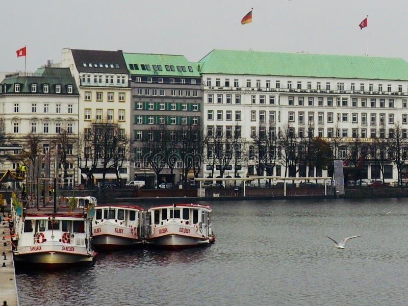 Höst i Tyskland fotografering för bildbyråer
