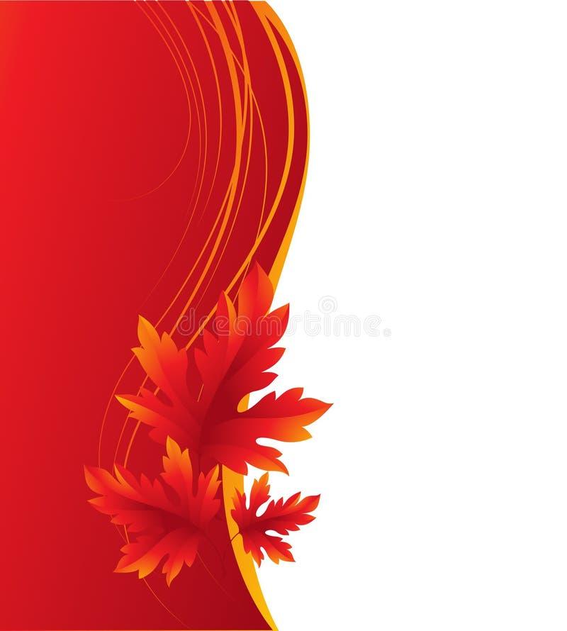 höstbakgrund låter vara linsen gjorda lönnbildspecialen vektor vektor illustrationer