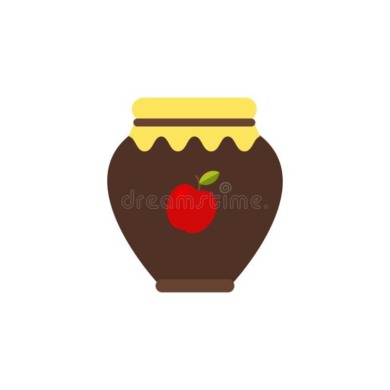 Höstconfiture Gömställefrukter stock illustrationer