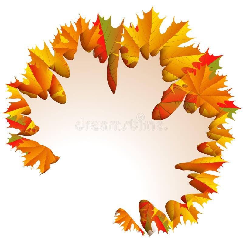 Hösten lämnar stock illustrationer