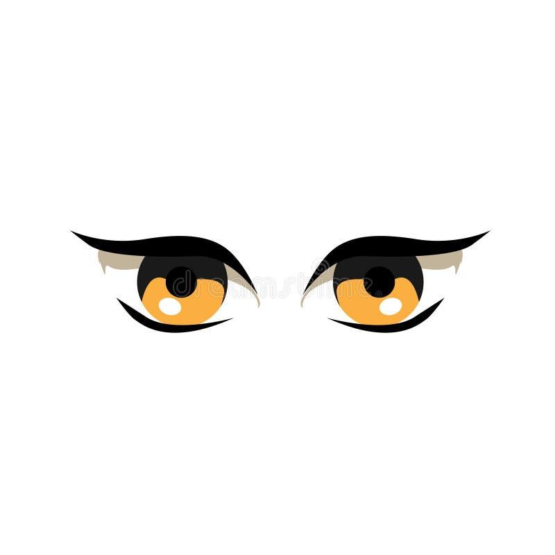Hübsche Augen vektor abbildung
