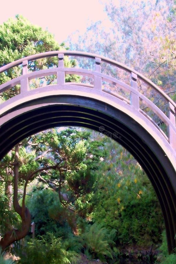 Hübsche Brücke lizenzfreie stockfotos